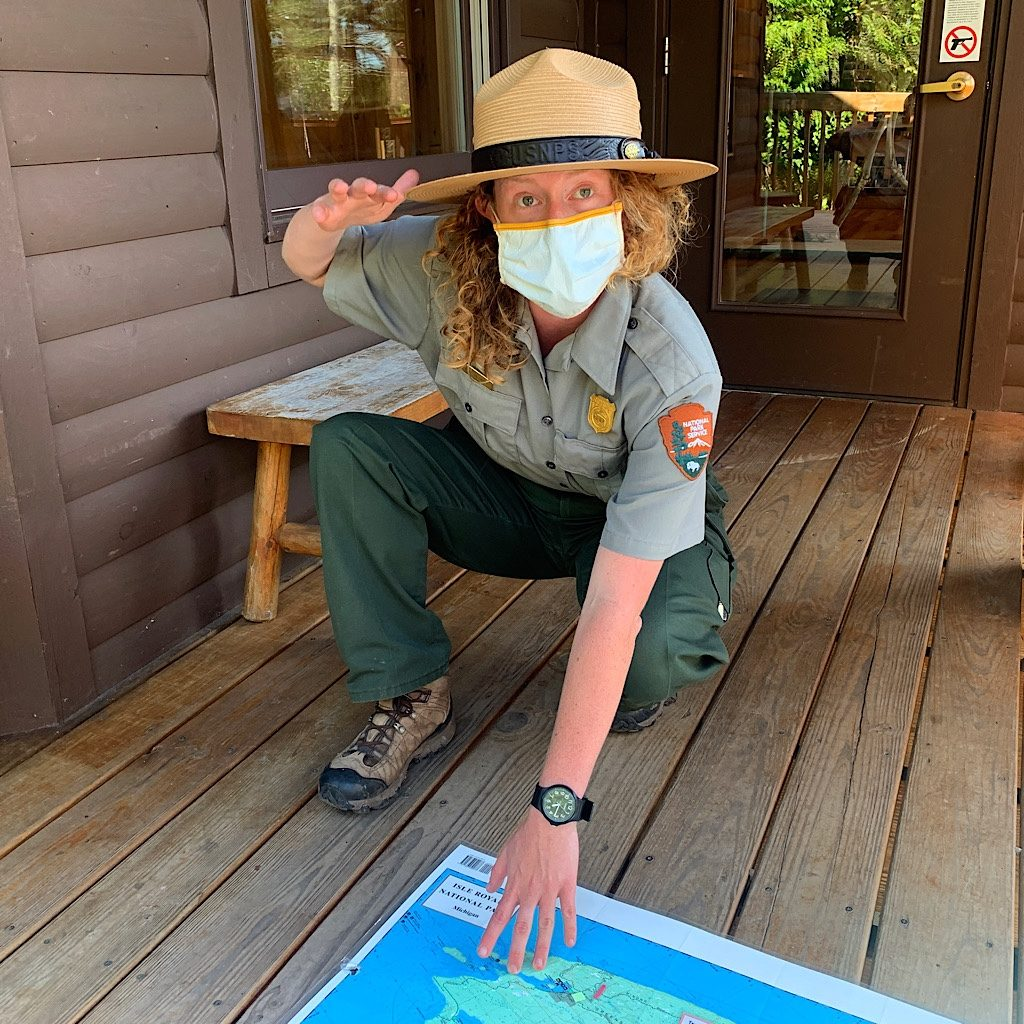 """Getting the """"Leave no Trace"""" lecture Covid-style."""