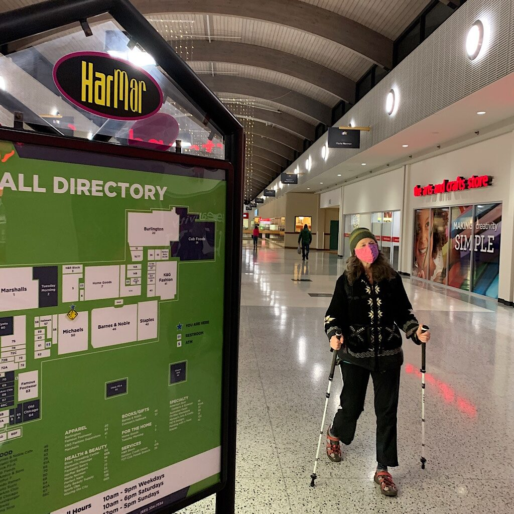 Har Mar Mall in Roseville, Minnesota hosts a whole subculture of mall walkers.