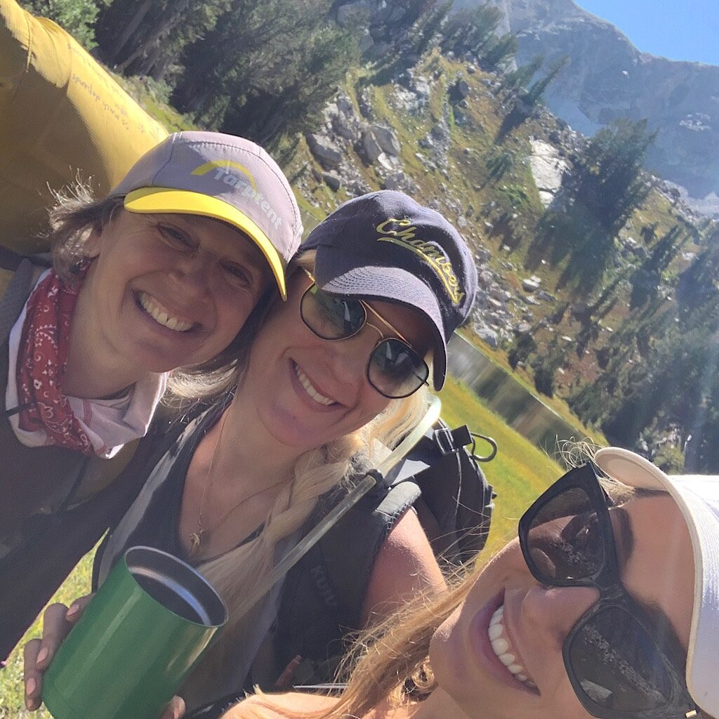 Everyone was so happy in the Tetons and it was such a contrast to thru-hiker competitive gloominess.