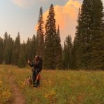 Teton Trail Day 6: Lake Marion to random spot near Ski Lake, 10 miles