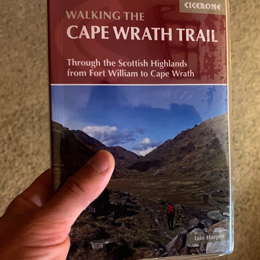 Next week, I'll fly to Edinburgh, drive to Fort William and walk 230+ miles through the Scottish Highlands to Cape Wrath.